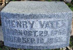 Henry Yates Sr.