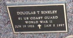 Douglas T Binkley