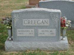 Ruth M <I>Stevens</I> Creegan