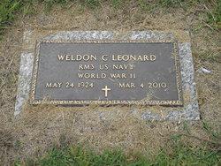 "Weldon Clemons ""W.C."" Leonard, Jr"