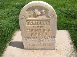 Gertrude Rohner