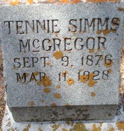 Tennie <I>Simms</I> McGregor