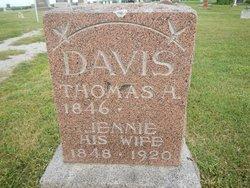 """Olive J. """"Jennie"""" <I>Crawford</I> Davis"""