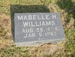 Mabelle Claire <I>Hannah</I> Williams