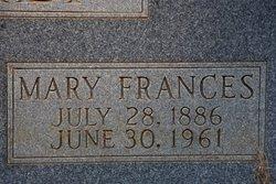 Mary Frances Weatherly