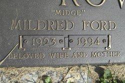 "Mildred ""Midge"" <I>Ford</I> Rowland"