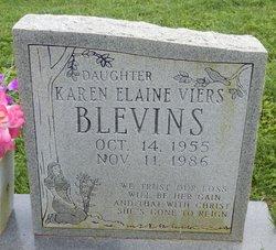 Karen Elaine <I>Viers</I> Blevins