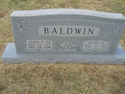 Betty B. Baldwin