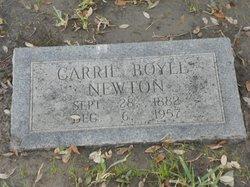 Carrie Thomason <I>Boyle</I> Newton