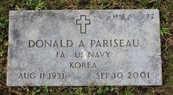 Donald A Pariseau
