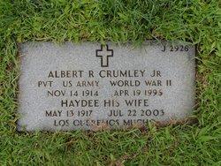 Pvt Albert R Crumley, Jr