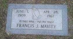 Francis Joseph Mavity