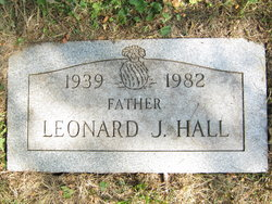 """Leonard J """"Bud"""" Hall"""