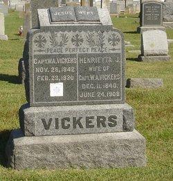 Henrietta J. Vickers