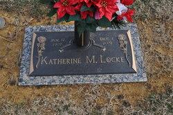 Katherine M. <I>Ellis</I> Locke
