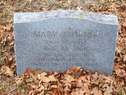 Mary Catherine <I>Oliver</I> Womack