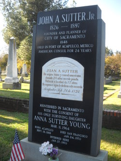 Anna Nicolasa <I>Sutter</I> Young