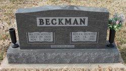 Melva <I>Hunter</I> Beckman