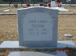 Annie Laura <I>Strickland</I> Folsom