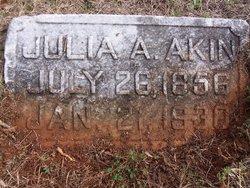 Julia A. Akin