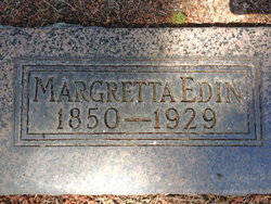 Margretta Cathrina <I>Bodin</I> Edin