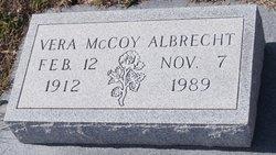 Vera <I>McCoy</I> Albrecht