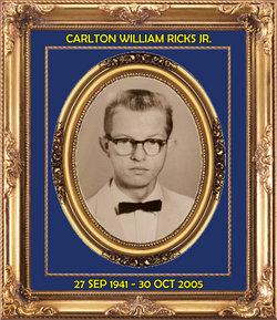 "Carlton William ""Butch"" Ricks, Jr"