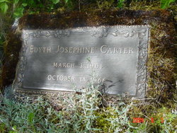 "Edyth Josephine ""Jo"" <I>Gilpatrick</I> Carter"