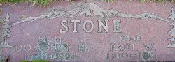 Dorothy Helen <I>Clampitt</I> Stone