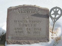 Frances <I>Harney</I> Fowler