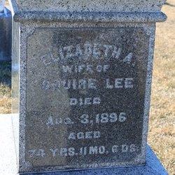 Elizabeth Ann <I>James</I> Lee
