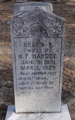 Helen E. <I>Harrelson</I> Hardee