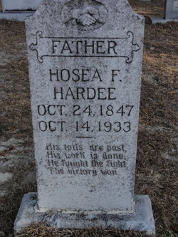 Hosea Franklin Hardee