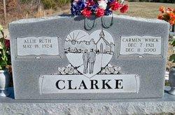 Allie Ruth <I>McGowan</I> Clarke