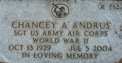 Chancey A. Andrus