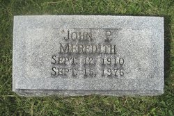 John P. Meredith