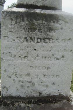 Margaret <I>Fraser</I> Sanderson