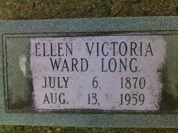 Ellen Victoria <I>Ward</I> Long