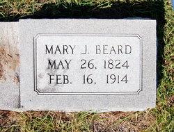 Mary Jane <I>May</I> Beard