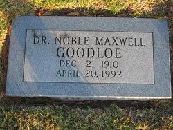 Dr. Noble Maxwell Goodloe