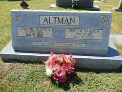 Vera M <I>Branch</I> Altman