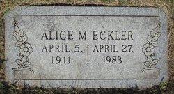 Alice Eckler