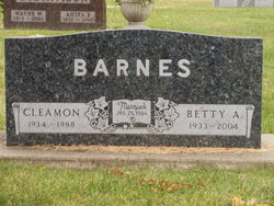 Betty Ann <I>Bertram</I> Barnes