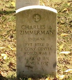 Pvt Charles A. Zimmerman