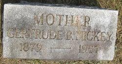 Gertrude Belle <I>Myers</I> Nickey