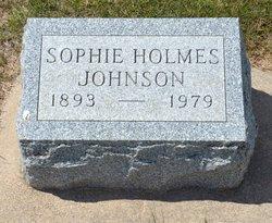 Sophie <I>Pfister</I> Johnson