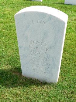 Joyce Elaine <I>Brantley</I> Hayes