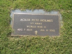 "Acker Paskell ""Pete"" Holmes"