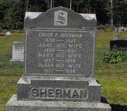 Jane <I>Guptill</I> Sherman
