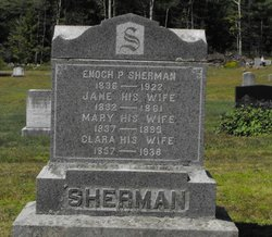 Mary <I>Ricker</I> Sherman